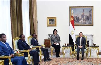 الرئيس السيسي يستقبل وفدا من الكونغو الديمقراطية.. ويؤكد دعم مصر الكامل لبلادهم