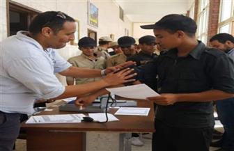 ضباط وأفراد ومجندي قوات أمن بني سويف يشاركون في حملة للتبرع بالدم