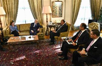 تفاصيل لقاء وزير الخارجية مع ممثل أمين عام الأمم المتحدة في ليبيا