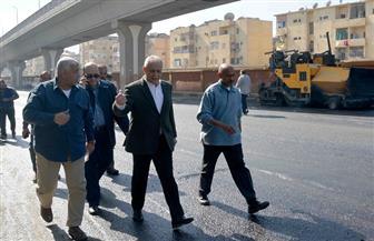 محافظ الأقصر يتابع تطوير ميدان أبو الحجاج وساحة المعبد وشارع السوق |صور