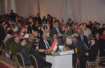 تكريم أسر شهداء الشرطة بمحافظة الدقهلية بنادي جزيرة الورد   صور