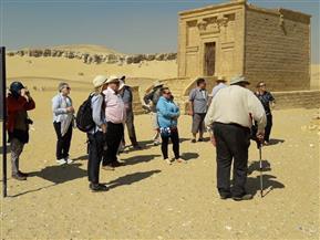 المنيا تستقبل وفدا سياحيا متعدد الجنسيات لزيارة المعالم السياحية