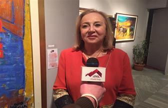 الفنانة التشكيلية رندا فؤاد: الدولة المصرية تعطي اهتماما كبير للثقافة والفن التشكيلي |صور