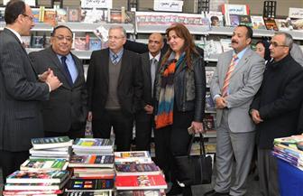 مؤسسة الأهرام تشارك في معرض الكتاب الثالث بجامعة حلوان