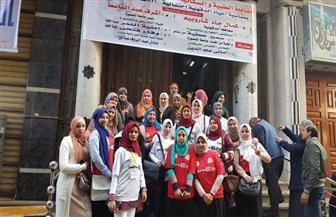 """قافلة طبية بمنية سندوب ضمن أنشطة مهرجان """"800 سنة منصورة"""""""