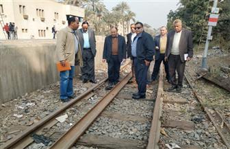 رئيس هيئة السكة الحديد يتفقد مواقع العمل بمشروعات التطوير على خط القاهرة ـ أسوان   صور