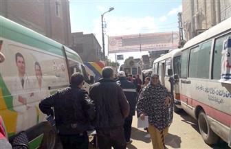 حزب مستقبل وطن ينظم قافلة طبية بقرية جمصة البلد بدمياط | صور