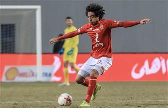 هاني يسجل أول أهدافه مع الأهلي هذا الموسم في شباك الداخلية