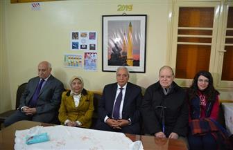 احتفالية بالمركز الثقافي الفرنسي في المنصورة في ذكرى اللواء فخر الدين خالد