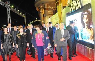 وزيرة الثقافة تشارك في حفل افتتاح مهرجان سينما المرأة بأسوان| صور