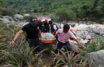 مقتل 7 أشخاص جراء انهيار أرضي في بيرو