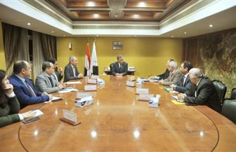 عرفات يلتقي رئيس وقيادات الهيئة القومية للأنفاق لمتابعة معدلات تنفيذ الخط الثالث للمترو