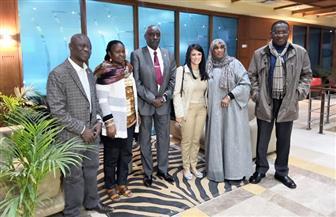 وزيرة السياحة تستقبل سفراء أكثر من ٢٥ دولة إفريقية للمشاركة في احتفالية ظاهرة تعامد الشمس | صور