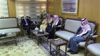 وزير العدل يستقبل النائب العام السعودي | صور