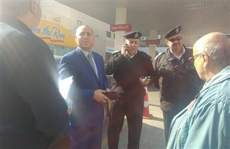نائب محافظ القاهرة يتابع إصلاح خط مياه بمصر الجديدة وتطوير جراج روكسي | صور