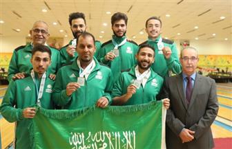 """""""الأخضر السعودي"""" يفوز بفضية العرب لـ""""البولينج"""""""