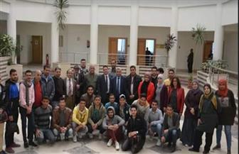 بوابة البحر الأحمر الإلكترونية تستقبل وفدا من كلية الإعلام جامعة الأزهر | صور