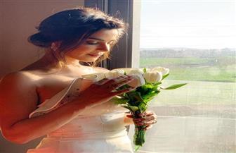"""رانيا منصور تشارك الجمهور صور زفافها في """"ابن أصول"""""""