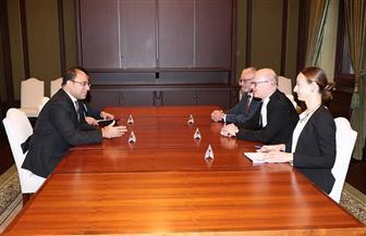 سفير مصر في أوتاوا يلتقي رئيس مجلس العموم الكندي
