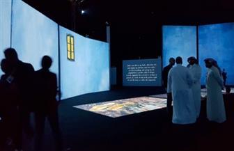 معرض فني في باريس يقدم محاكاة بصرية للوحات فان جوخ