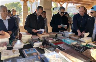 معرض للكتب الأثرية علي هامش ظاهرة تعامد الشمس علي معبد أبو سمبل