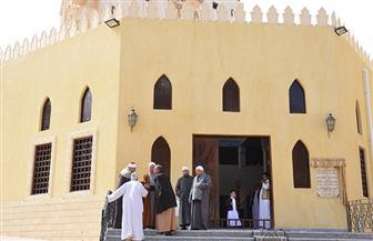 افتتاح مسجد علي بن أبي طالب في مطروح بعد إحلاله وتجديده بتكلفة مليوني جنيه | صور