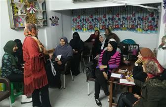 مستقبل وطن الزهور ينظم دورة لتعليم الخياطة لفتيات وسيدات حي الزهور | صور