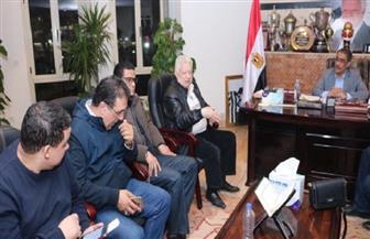 تفاصيل اجتماع ضياء رشوان مع رئيس نادي الزمالك