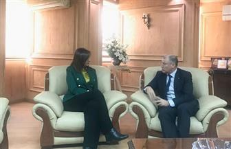 وزيرة الهجرة تلتقي السفير الأسترالي بالقاهرة لبحث ترتيبات النسخة الثالثة من مبادرة إحياء الجذور | صور