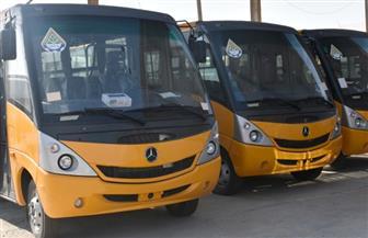 بدء التشغيل التجريبي لـ5 أتوبيسات لخدمة النقل الداخلي بمدينة العبور