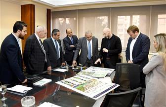 """وزير الإسكان يتابع الموقف التنفيذي لمشروع الحدائق المركزية بالعاصمة الإدارية الجديدة """"كابيتال بارك"""""""