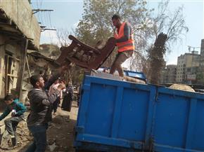 بدء إزالة منطقة أبوالسعود العشوائية وتسكين المستحقين في شقق بالأسمرات | صور