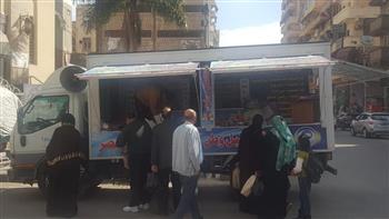 """""""مستقبل وطن"""" بورسعيد يدفع بـ 5 منافذ بيع سلع مخفضة للمواطنين"""