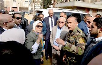 وزيرة الصحة تتفقد تطوير مستشفي بورفؤاد المركزي استعداداً لتطبيق منظومة التأمين الصحى في بورسعيد | صور