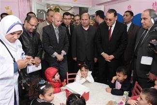 بدء تنفيذ الحملة القومية للتطعيم ضد شلل الأطفال بالشرقية