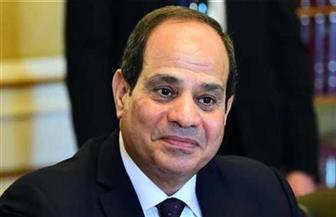 الرئيس عبدالفتاح السيسي يستقبل نظيره العراقي برهم صالح
