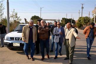 محافظ الأقصر يتفقد مستشفى أرمنت ومشروع خزان الرياينة | صور