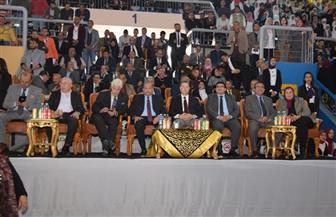 افتتاح البطولة العربية الثالثة للمبارزين الجامعيين لسلاح الشيش بمشاركة 30 جامعة مصرية وعربية في بني سويف | صور
