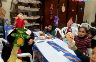 ورشة فنية للأطفال ومعرض للكتب والرسوم بثقافة القاهرة | صور