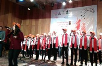 فرقة كورال أنغام السلام تقدم عروضها بقصر ثقافة السلام