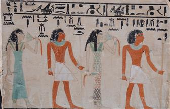 قطعتا الأسبوع بالمتحف المصري.. قناع من عصر الأسرة السادسة والعشرين ولوحة جنائزية لنيت بتاح | صور