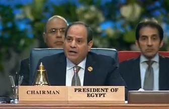 الرئيس السيسي: البيان الختامي للقمة العربية الأوروبية يؤكد تعزيز الشراكة لمواجهة التحديات