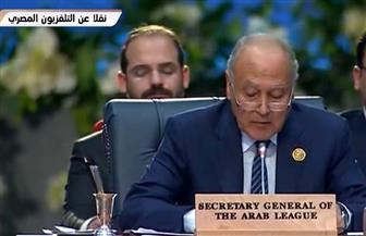 أبوالغيط: لا حل عسكريا لنزاعات المنطقة ويجب التوصل لحلول سياسية تشمل وحدة الدولة
