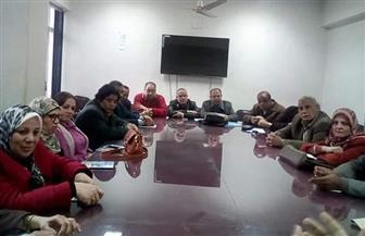 صحة المنوفية تعقد الاجتماع الإشرافي لحملة التطعيم ضد شلل الأطفال|صور