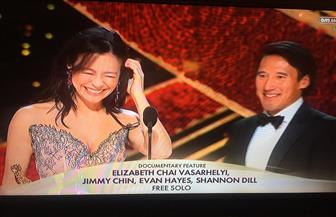 """فوز """"فري صولو"""" بجائزة أفضل فيلم وثائقي في حفل جوائز الأوسكار الـ""""91"""""""