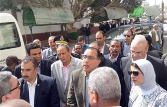 رئيس الوزراء يطالب بالانتهاء من قسم الطوارئ بمستشفى السويس العام خلال إبريل المقبل