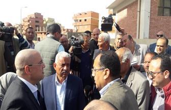 رئيس الوزراء يوافق على تخصيص 14 مليون جنيه لحل مشكلة المياه الجوفية في مدينة خليفة بن زايد | صور