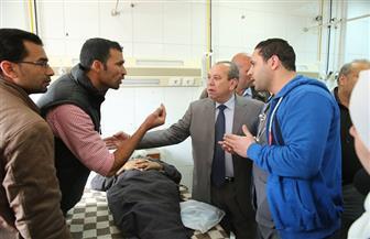 محافظ كفرالشيخ يتفقد المستشفى العام ويشدد على توفير الأدوية اللازمة للمرضى | صور