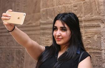 الفنانة المغربية جيهان خليل: شعرت بالأمن والأمان في مصر | صور