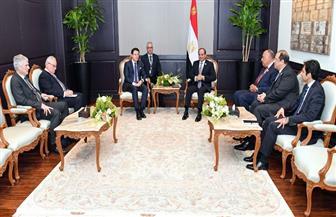 الرئيس السيسي يستقبل رئيس وزراء إيطاليا لتعزيز التعاون الثنائي بين البلدين